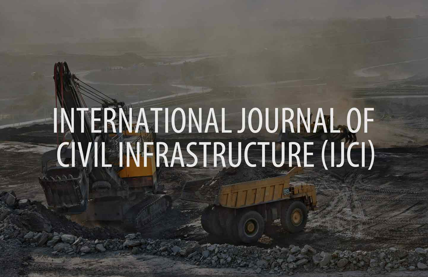 International Journal of Civil Infrastructure (IJCI)