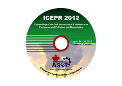 Proceedings of the 2nd International Conference on Environmental Pollution and Remediation (ICEPR'12)