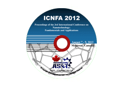Proceedings of the 3rd International Conference on Nanotechnology: Fundamentals and Applications (ICNFA'12)