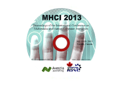 Proceedings of the International Conference on Multimedia and Human-Computer Interaction (MHCI'13)